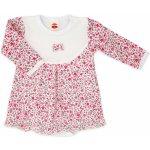 2a005bff3e74 Makoma Dievčenské body so sukničkou Flower bielo ružové