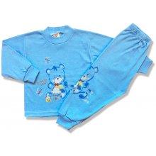 BABY´S WEAR Chlapčenské pyžamo Greedy Bear modré