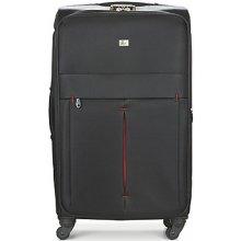 David Jones Pružné cestovné kufre JAVESKA 111L čierna