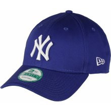 New Era League Basic New York Yankees Royal/White Strapback modrá / bílá / modrá