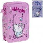 Hello Kitty poschodový peračník - plný - Lila