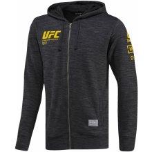 80f98c384 REEBOK UFC ULTIMATE FAN ZIP Pánská mikina černo/šedá