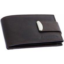 Loranzo Pánska peňaženka s prackou hnedá