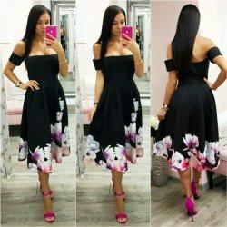 1f6aee1bbb2a Čierne áčkové midi šaty s kvetinami alternatívy - Heureka.sk
