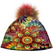 d47c06abc Bertoni Dizajnová dámska čiapka s veľkým brmbolcom Bambulky