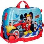 0bafd3d1ed338 JOUMMABAGS Detský kufrík na kolieskách Mickey Winner MAXI ABS plast 34 l