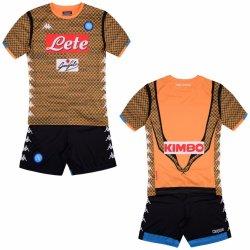 0363b9a47e13e Kappa SSC Neapol brankársky set detský 2018 2019 oranžový od 59,99 ...