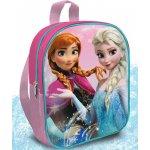 Euroswan detský batôžtek Ľadové Kráľovstvo Anna a Elsa ružový 24x20x8 cm