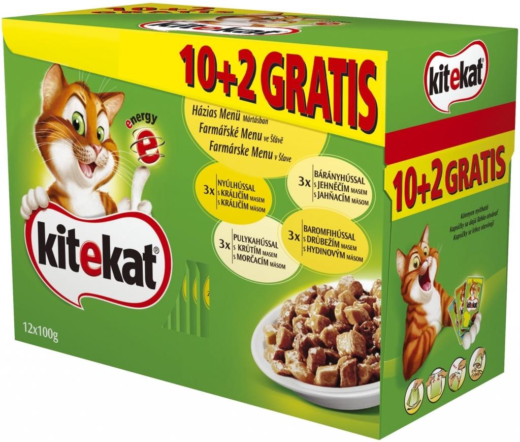 Krmivo a vitamíny pre mačky Kitekat - Heureka.sk 954e385f23d