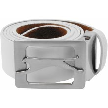 Slazenger Leather Belt 61 white