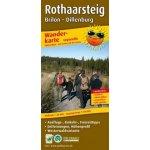 PublicPress Wanderkarte Rothaarsteig. Brilon - Dillenburg