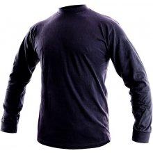 Canis Pánské tričko s dlouhým rukávem PETR Tmavě modrá