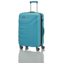 Cestovní kufr Travelite Vector 4W M 72048-21 tyrkysová