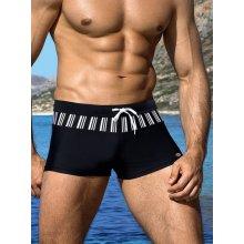 Vzorované pánske plavky boxerky Lorin 721
