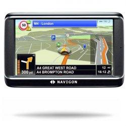 Navigon - 4.3 palcov - asistent jazdných pruhov - 3d zobrazenie