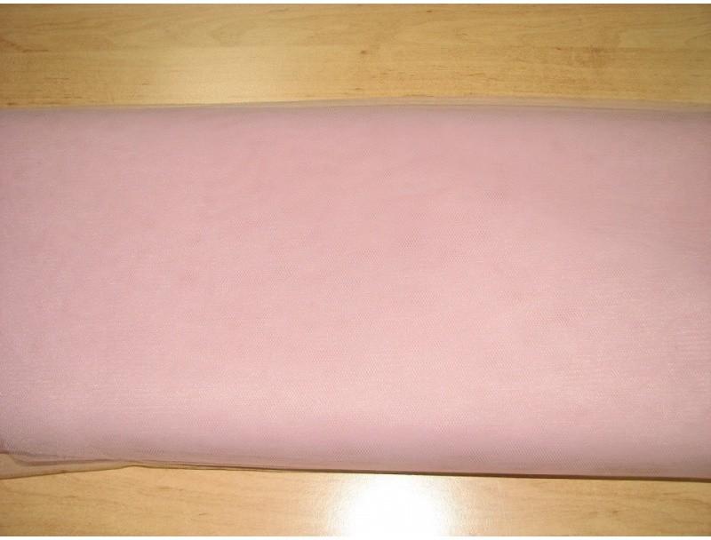 fcbef810f101 Metráž Tyl jemný 280cm - Staro ružová T033 - Zoznamtovaru.sk