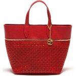 Carla Ferreri kožená business kabelka 862 Rosso