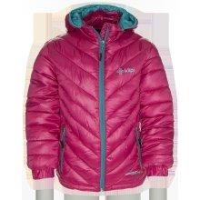 Kilpi Matra-K detská zimná zateplená bunda pink