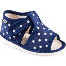 ab7e8eacb RAK Detské papuče 10014 Modrá bodka