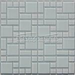 MOSAGRES MSM38 Mozaika sklo Multimix 300x300x4mm bílá