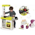 Smoby set kuchynka elektronická Cherry so zvukmi+ raňajkový set s kávovarom a toasterom Tefal 310908-8