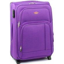 SUITCASE 91074 cestovný kufor malý 37x25x54 cm Fialová