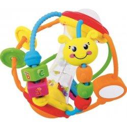 Baby Mix edukačná guľa s pískatkom
