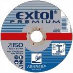 Extol Premium Kotúč brúsny na kov, 115x6,0x22,2mm, 8808700