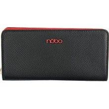 2608620be8 Nöbo Dámska peňaženka simple čierna