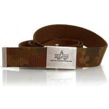 Alpha Industries Heavy Duty Belt Wood Camo