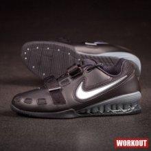 f42c0362014 Nike Pánské vzpěračky Romaleos 2 Weightlifting Shoes Black   Silver