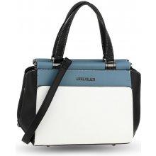 7a031cbf06 kabelka farebná grab elegantná biela čierna modrá