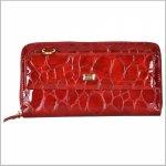 Dámska kožená peňaženka 3034 červená