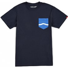 Vans Sid e Stripe Pocket Tee Navy
