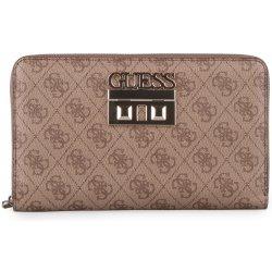 Guess Dámská velká peněženka psaníčko Logo Luxe SWSG7102600 hnědá ... 6f71a5ff591