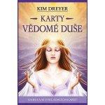 Karty vědomé duše - kniha 64 karet - Kim Dreyer