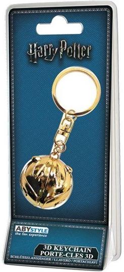 Prívesok na kľúče Prívesok na kľúče ABYstyle Harry Potter  Zlatonka ... 8d1b78ae579