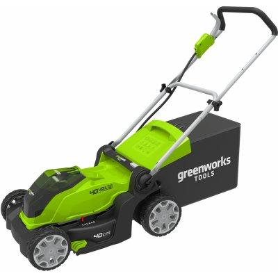 Akumulátorová kosačka Greenworks G40LM41