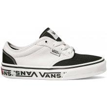 27e4c55631643 Vans Chlapčenské tenisky Yt Atwood Sidewall Logo biela