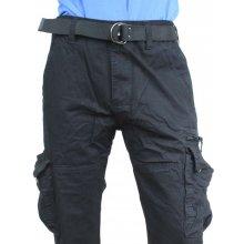 e362ca70c2ec QUATRO nohavice pánske kapsáče čierné