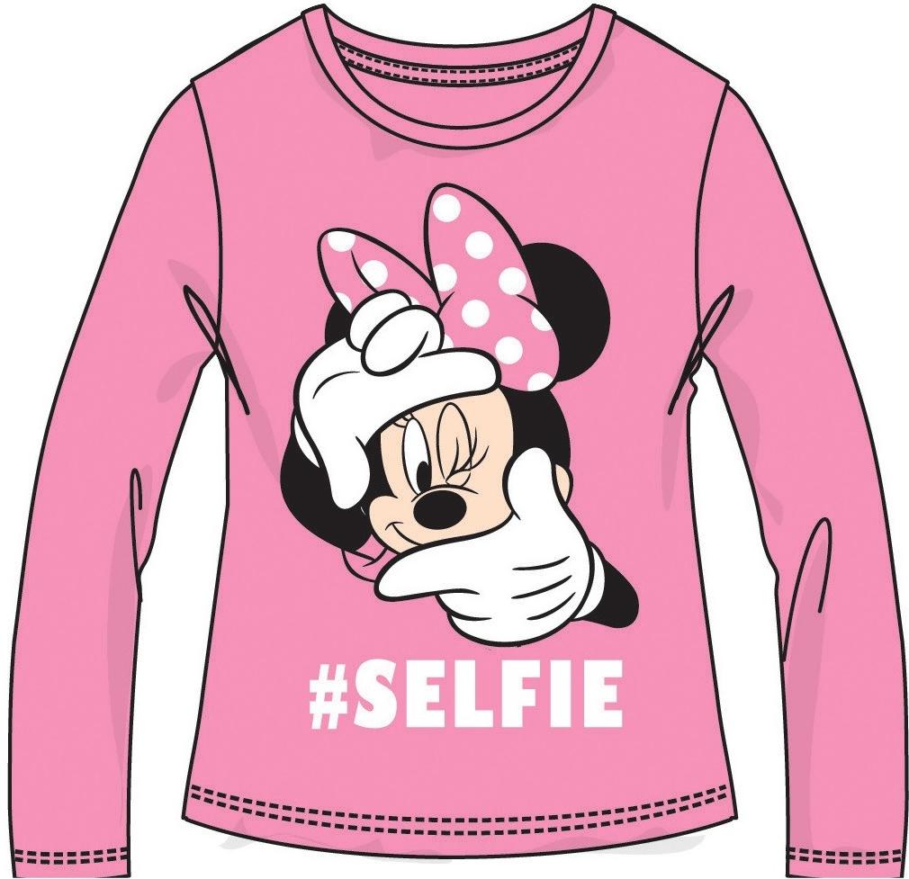 307581090 Tričko a košeľa Disney by Arnetta Dievčenské tričko Minnie - ružové ...
