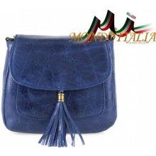 Made In Italy kožená kabelka cez rameno 700 Jeans 6f0d04156f9