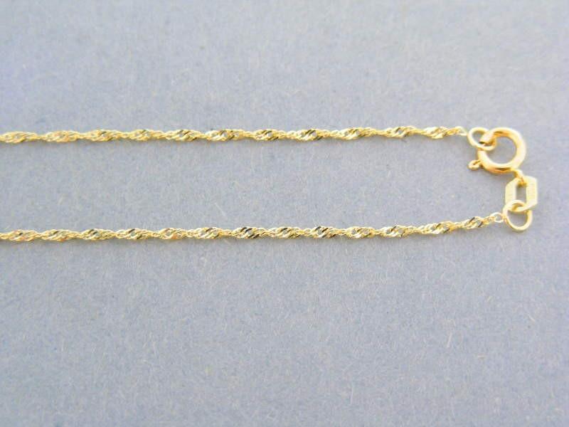053b40270 MARM Design Zlatá retiazka žlté zlato jemne točená VDR42077Z 14 karátov