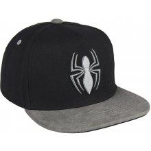 d8205bfd2 Disney Brand Chlapčenská šiltovka Spiderman čierna