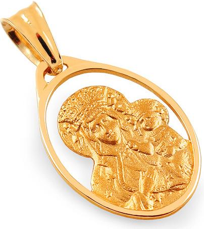 Prívesok iZlato Design Zlatý prívesok s Madonkou IZ15684 ... b84805fd763