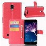 Púzdro KG Wallet Style Doogee X10 5001 červené