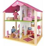 Eichhorn Drevený domček pre bábiky s príslušenstvom