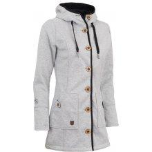 c999bf1c9b14 Woox Woolshell Ladies  Button kabát jarný dámsky Grey