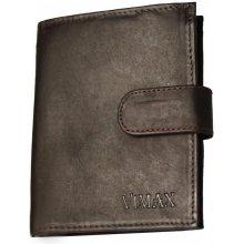 347e79f2ec Vimax Kožená peňaženka pánska model AMV 07 250A tmavohnedá