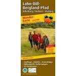 PublicPress Wanderkarte Lahn-Dill-Bergland-Pfad, 34 Teilktn.